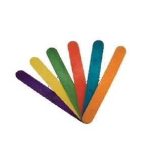 מקל רופא צבעוני 60 יחידות