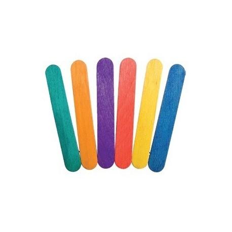 מקל גמבו צבעוני 18 יחידות