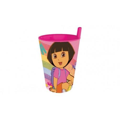 כוס עם קש דורה