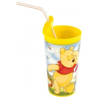 כוס עם קש פו הדב