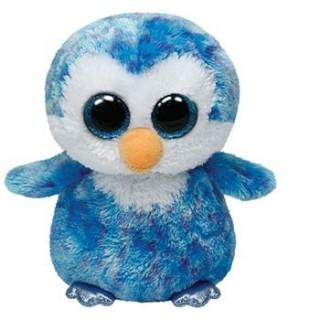 בובת TY פינגווין כחול