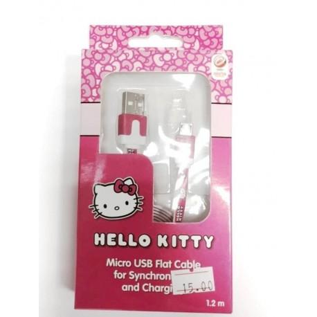 כבל USB הלו קיטי