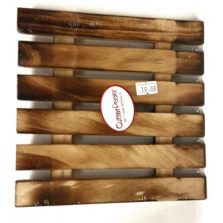משטח הגשה מעץ