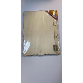 אלבום תמונות מעץ