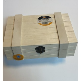 ארגז עץ - שקוף