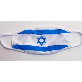מסיכת דגל ישראל להגנה מפני הקורונה