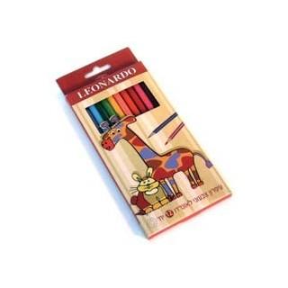 עפרון צבעוני 12 LEONARDO
