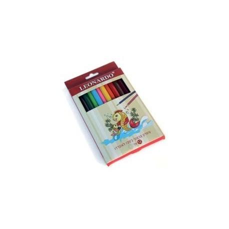 עפרון צבעוני גמבו 12
