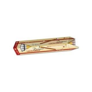 עפרון עם מחק אורטופדי LEONARDO גוף משולש