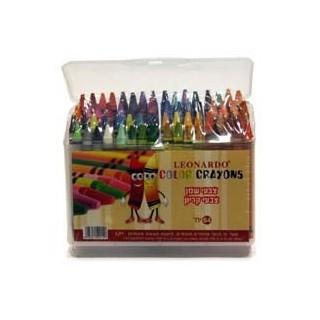 צבעי קריון 64 יח' דקים בקופסה