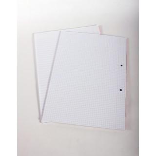דפדפת A4 - משובץ - 40 דף יחידה