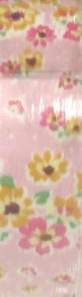 דגם ורוד עם פרחים